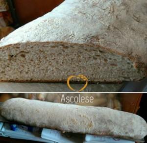 100% Tumminia, acqua, sale e lievito madre: rivive da Ascolese la tradizione del pane nero di Castelvetrano.