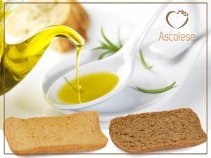 bruschette e olio extravergine di oliva