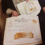 medaglia d'oro migliore panettone al mondo